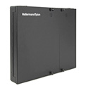 HellermannTyton FEWM12 Wall Mount Fiber Enclosure - Unloaded Accepts 2 Pnl 1 Tr