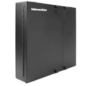 HellermannTyton FEWM24 Wall Mount Fiber Enclosure - Unloaded Accepts 4 Pnl 2 Tr