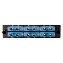 HellermannTyton VFAP12SSMSTZ FT Adapter Panel Preloaded with 12 ST SM