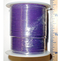 24 AWG 300V Stranded Hook-Up Wire 100 Foot Spool Violet