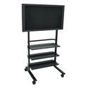 Wilson WFP100-B 32-50 Inch LED / Plasma / LCD Flat Panel Cart