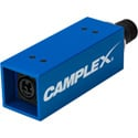 Camplex SMPTE Active/w Power  SMPTE 311M Female to Neutrik opticalCon DUO Fiber Optic Adapter