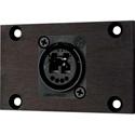 Camplex HYMOD-1R08 OpticalCon Duo LC Feedthru Module for 1RU HYMOD Systems