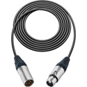 TecNec Intercom Straight Extension Cable 4 Pin XLR M to XLR F 6Ft