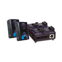 IDX D9522P Power Kit - 2 DUO-95 Batteries & 1 VL-2PLUS Charger