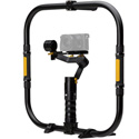 ikan DS2-A-GRH-KIT Gimbal Ring Kit with Beholder DS2-A Gimbal Stabilizer and Angled Motor Arm w/ Li-Ion Batteries