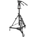 ikan EI-7903-A Air-Assist Pedestal Tripod with Easy Height Adjustment Lever - AT7902 Base/Dolly & 7103H Head (E-Image)