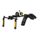 ikan ELE-EV3-FFDSLR EV3 Flyweight DSLR Shoulder Rig & Follow Focus Kit