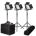 ikan IKAN-IFB1024-S-Kit 3-Point Light Kit  with Sony V-Mount Battery Plate