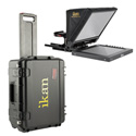 iKan PT1200 Teleprompter Travel Kit with Rolling Hard Case