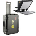 iKan PT-ELITE-PRO Teleprompter Travel Kit with Rolling Hard Case