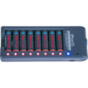 iPower IPAA-8  SILVER 8 Position Dual Mode Professional Fast Smart Charger for Li-ion & NIMH Batteries