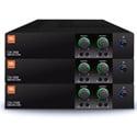 JBL CSA240Z 2-Channel 40W 1U Commercial DriveCore Amplifier - Built-in 70/100V Fanless