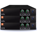 JBL CSA280Z 2-Channel 80W 1U Commercial DriveCore Amplifier - Built-in 70/100V Fanless