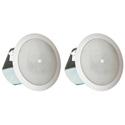 JBL CONTROL 12C/T Compact Ceiling Loudspeaker - White - Pair
