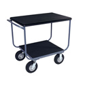 Jamco TB236-N8-PS 24x36 Instrument Cart with 2 Shelves and Power Strip