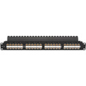 Black Box JPM810A-HD 1U CAT5e Feed-Through Patch Panel - Unshielded 48-Port