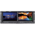 JVC DT-X93HX2 Dual 9 Inch FHD Rack-Mount Video Monitor