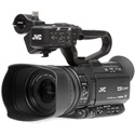 JVC GY-HM180U 4KCAM Camcorder with AC Power Supply