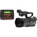 JVC GYHM250SP Sports Production Camcorder and Sportzcast Scorebot 4100 Scoreboard Interface Unit