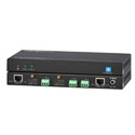 KanexPro EXT-HDRPT100M Professional HDBaseT Repeater with 1x2 DA & Loop Out