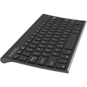 Kanex K166-1053 Compact Bluetooth Keyboard with Stand Cover - Black