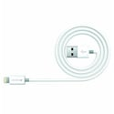 Kanex K8PIN05M Charge and Sync Cable with Lightning Connector 1.6FT 2 Pack (White)