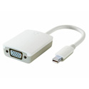 Kanex KIADAPTVGAW Mini DisplayPort to VGA Adapter (White)