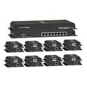 KanexPro SP-HDCAT1X8 - 1x8 HDMI Distribution Amplifier Kit