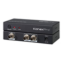 KanexPro SP-SDIX2 3G/HD-SDI 1x2 Splitter Distribute 1 SDI Signal to 2 SDI Monitors