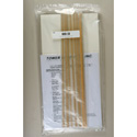 1/2-Inch x 17-Inch Stick On Patchbay Identification Strips - Pack of 12