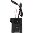 Kinotehnik KTVMP600 V-Mount Locking Plate with 4-Pin XLR Cable and Strap