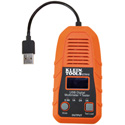 Klein Tools ET910 USB-A Digital Meter and Tester - 3 to 20V DC