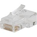 Klein Tools VDV826-729 Pass-Thru Modular Data Plug - CAT5E - 10 Pack