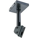 K&M 24496-000-55 Speaker Ceiling Mount - Black