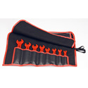 Knipex 98 99 13 S4 8 Pc Open End Wrench Set-SAE - 1000V Insulated