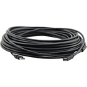 Kramer CPA-UAM/UAF-25 Plenum Rated USB-A (M) to USB-A (F) Active USB Extension Cable - 25 Foot