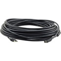 Kramer CPA-UAM/UAF-50 Plenum Rated USB-A (M) to USB-A (F) Active USB Extension Cable - 50 Foot