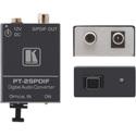 Kramer PT-2SPDIF TOSLINK to S/PDIF Digital Audio Format Converter