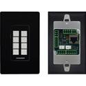 Kramer RC-308/US-D(B) 8-button Ethernet and KNET™ 1-gang Control Keypad Black