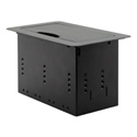 Kramer TBUS-4XL Table Mount Modular Multi Connection Solution - Tilt Up Lid - Black