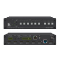 Kramer VS-611DT 6x1:2 4K60 4:2:0 HDMI Auto Switcher and PoE Provider over HDBaseT