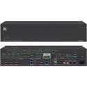Kramer VS-84UT/110V All-in-One Presentation System w/ 8x4 4K60 4:2:0 HDMI/HDBaseT 2.0 Matrix Switching PoE & Power Amp
