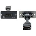 Kramer W-DP Wall Plate Insert - DisplayPort - Black