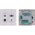 Kramer WP-20/US(W) Active Wall Plate Transmitter - HDMI/VGA/RS-232/ETH and Audio HDBaseT