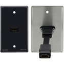 Kramer WP-H1M HDMI Passive Wall Plate - Grey