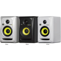KRK RP4G3 Rokit 4 G3 30W 4 Inch Two-Way Active Studio Monitor - Single - Black
