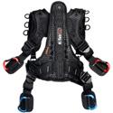 K-Tek KSHRN3S Stingray Harness with Rigid Spine Design and Inner Belt - Small (3rd Generation)