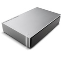 LaCie STEW4000400 4TB Porsche Design Desktop Drive - Light Grey