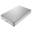 LaCie STFD5000400 5TB Porsche Design Mobile Drive - Silver